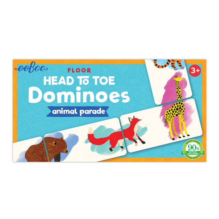 Head to Toes Dominoes, by eeBoo