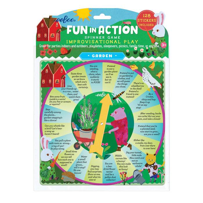 Garden Fun In Action Spinner Game, by eeBoo