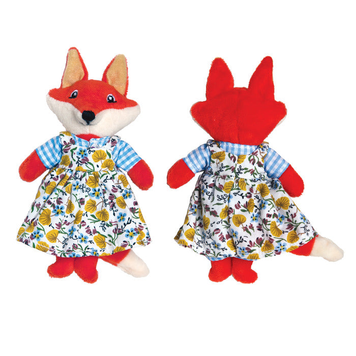 Good Little Citizen, Lead By Example, Fox Plush Toy, by eeBoo