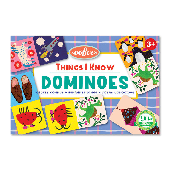 Things I Know - Little Dominoes Game, by eeBoo