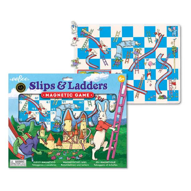 Slips & Ladders - Magnetic Game, by eeBoo