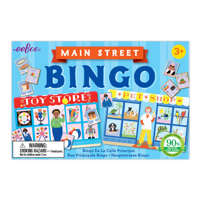 Main Street Bingo, by eeBoo