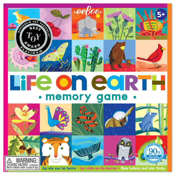 Life On Earth Memory & Matching Game, by eeBoo