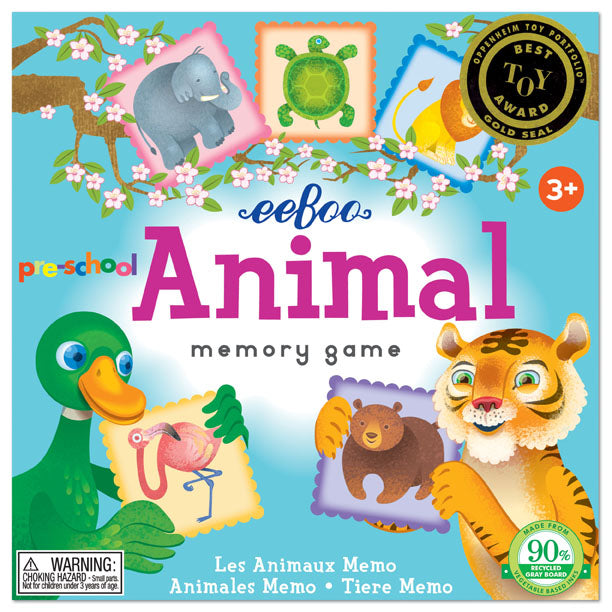 Preschool Animal Memory Game, by eeBoo