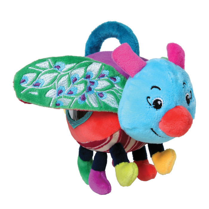 Noisy Bug Sensory Plush Toy, by eeBoo