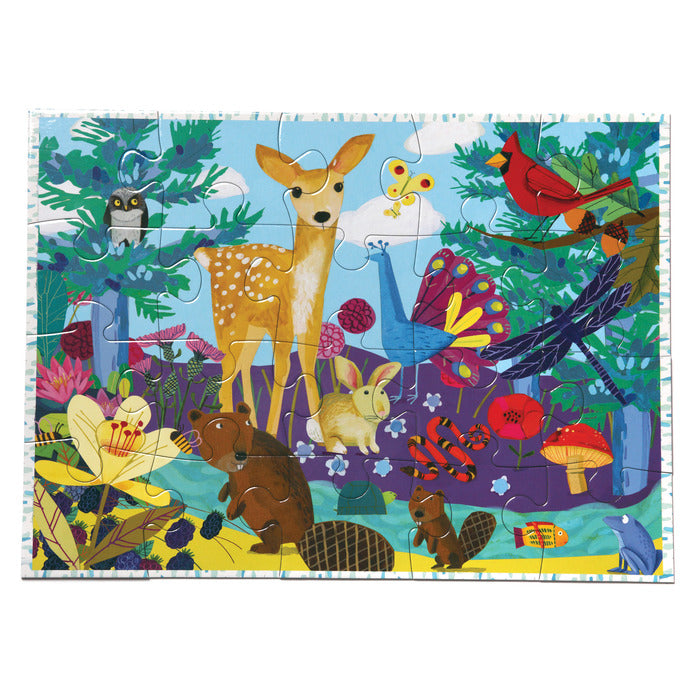 Life On Earth 20pc Puzzle, by eeBoo