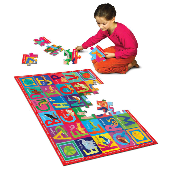 Giant Alphabet Really Big Floor Puzzle 48pc Puzzle, by eeBoo