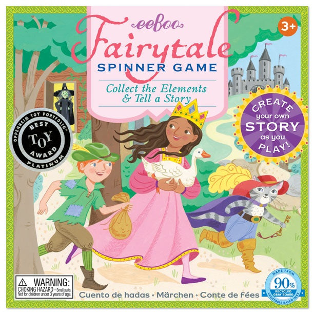 Fairytale Spinner Game, by eeBoo
