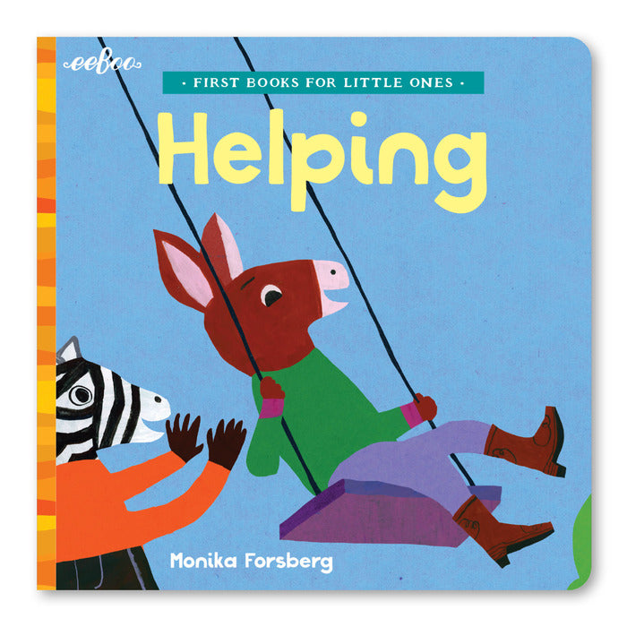First Books For Little Ones - Helping, by eeBoo