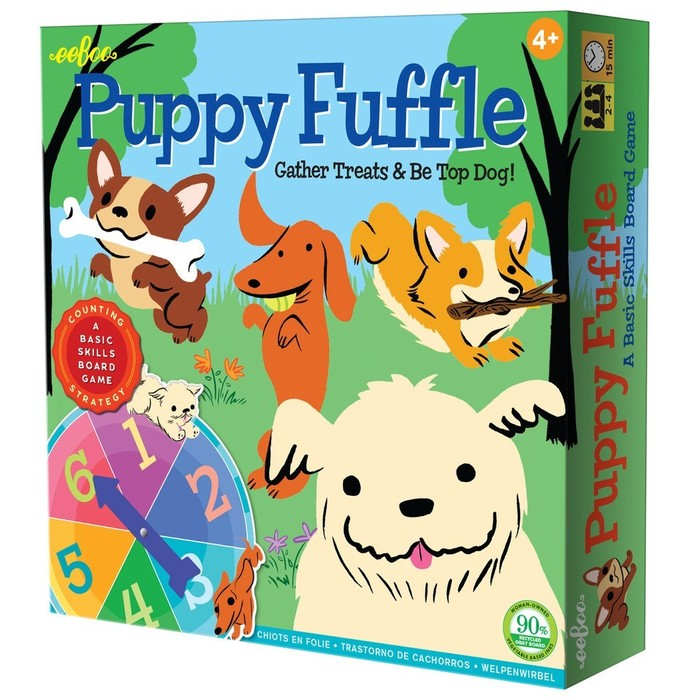 Puppy Fuffle Board Game, by eeBoo
