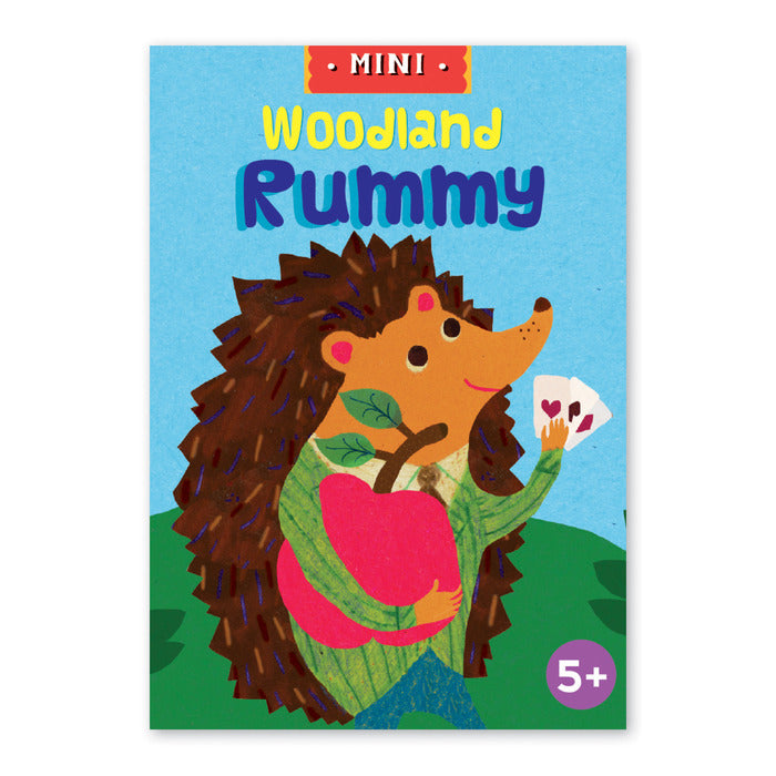 Mini Card Games - Woodland Rummy by eeBoo