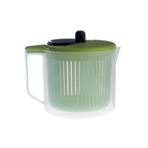 Zeal J259G Salad Spinner  Measuring Jug  Green