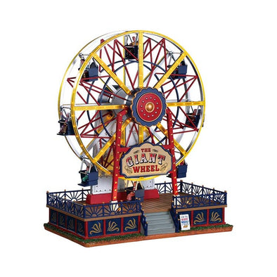 Lemax 94482-UK Lemax Large Animation  Carnival The Giant Wheel Plugin 45V Adaptor