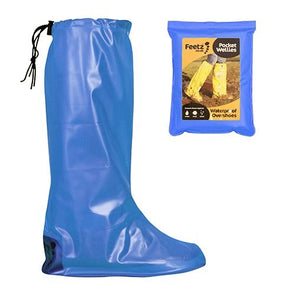 Feetz  Feetz Pocket Wellies  Waterproof Overshoes  Blue  XS