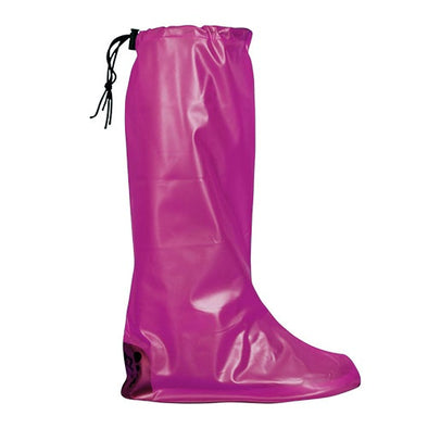Feetz  Feetz Pocket Wellies  Waterproof Overshoes  Pink  M