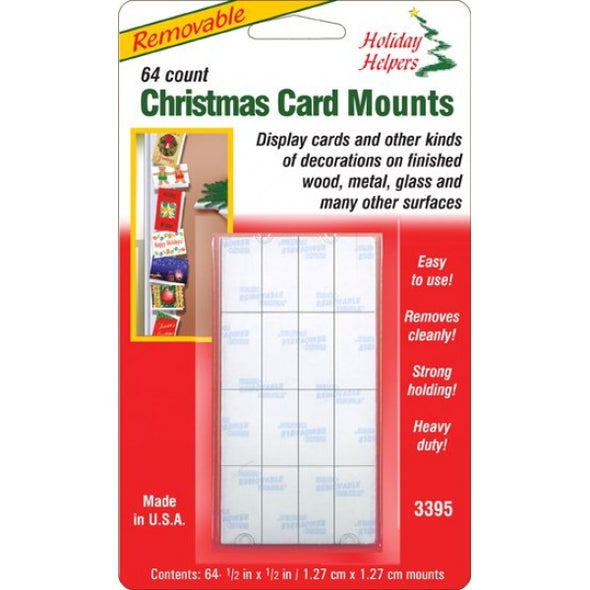 Magic Mounts 3395 Holiday Helpers Removable Christmas Card Mounts
