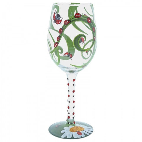 Lolita 6001626 Ladybird Wine Glass