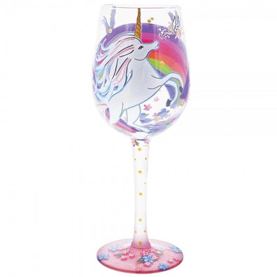 Lolita 6001629 Unicorn Wine Glass