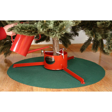 Waterproof Christmas Tree Stand Mat : Green