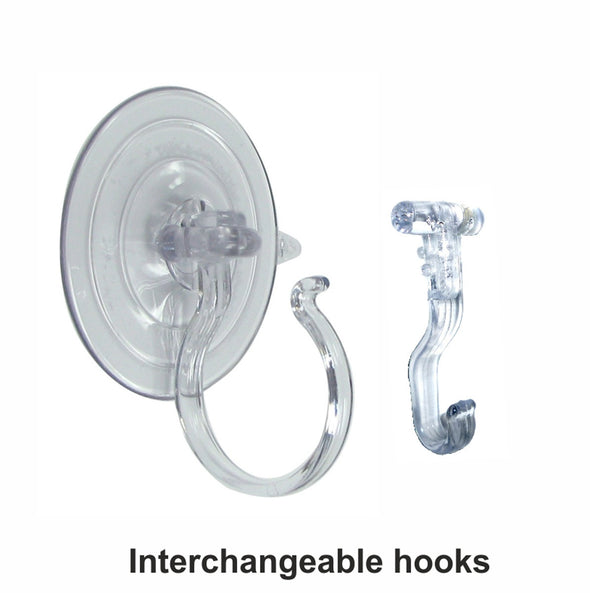 Wreath Holder Giant Suction Cup