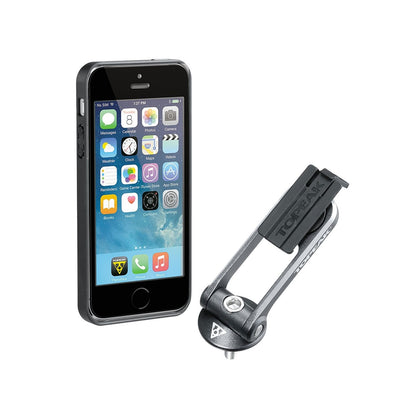Topeak TT9833B Topeak Ridecase  iPhone 55SSE  Black with Mount