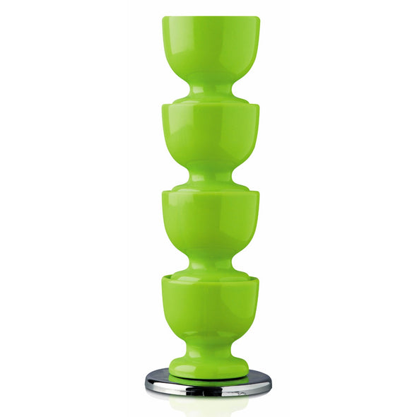 Zeal G267PACK Stacking Melamine Egg Cups  Green