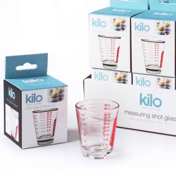 Kilo M120DISP Shot Glass Measure