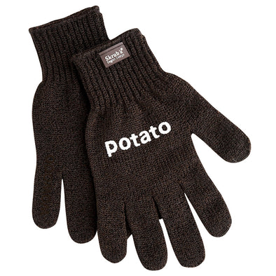Skruba 671001 Potato Scrubbing Gloves Skruba Easy Safe Healthy