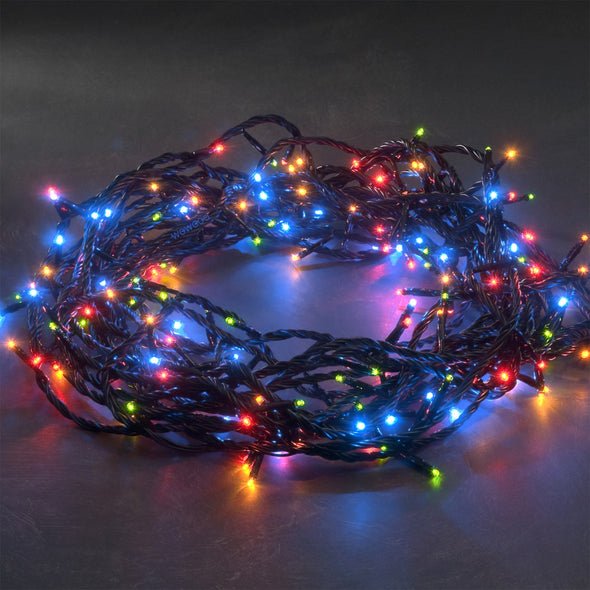 Konstsmide 3631-500 120 Micro LED Christmas Tree Lights  Multicoloured