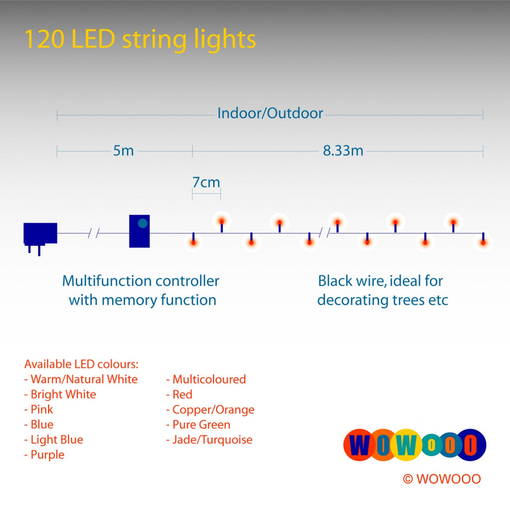 Micro Led Lights 120 Volt Wire Light Wiring Diagram Konstsmide Copper Christmas Tree Wowooo 1024x1015