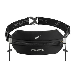 Fitletic FT-010000 Fitletic Neo Racing Running Belt  Black