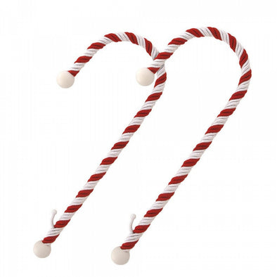 Haute Decor Candy Cane Stocking Holder : 2 Pack