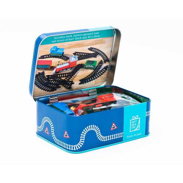 Apples To Pears 101221 Train Set Gift In A Tin