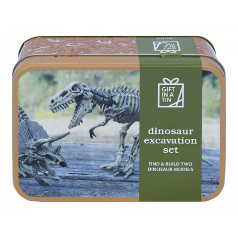 Apples To Pears 101305 Dinosaur Excavation Kit In A Tin