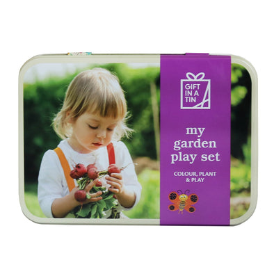 Apples To Pears 101313 My Garden Play Set in a Tin