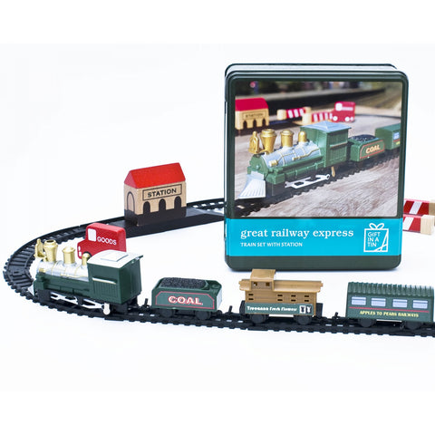 Apples To Pears 104103 Great Railway Express In A Tin
