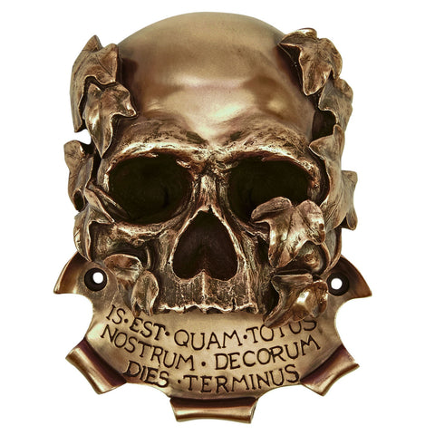 Beer Buddies BB04BZ Beer Buddies Memento Mori Skull Bottle Opener  Bronze