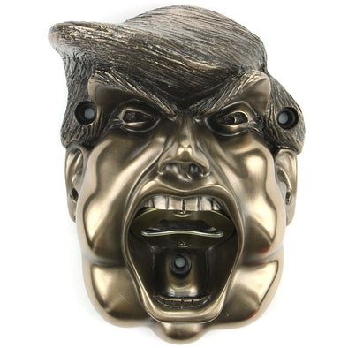 Beer Buddies BB41BZ Beer Buddies Donald Trump Bottle Opener  Bronze