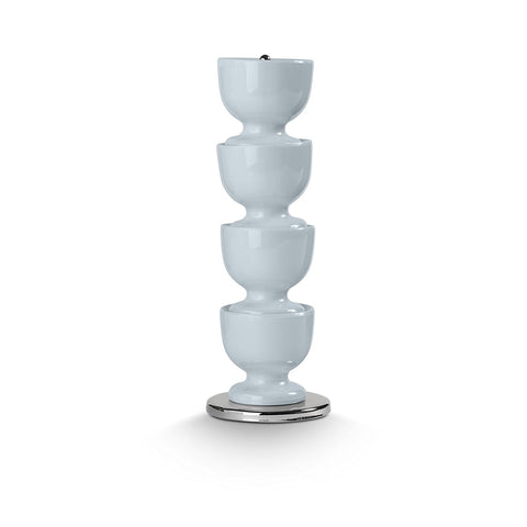Zeal G277B Stacking Melamine Egg Cups  Duck Egg Blue