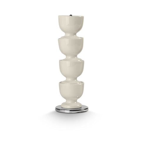 Stacking Melamine Egg Cups : Cream