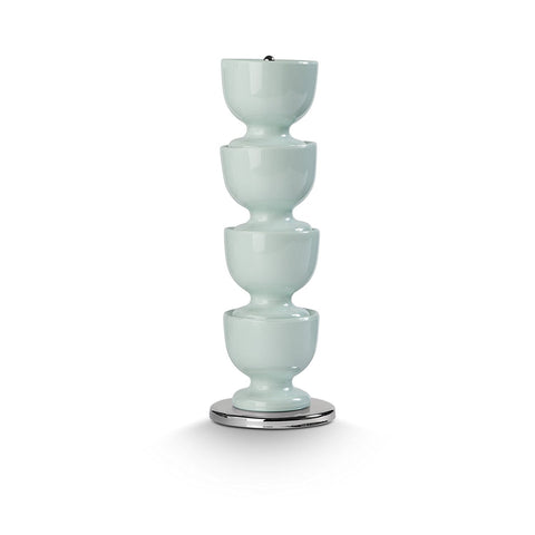 Zeal G277G Stacking Melamine Egg Cups  Sage Green