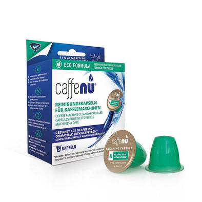Caffe Nu 130100002 Caffe Nu Eco Formula Cleaning Capsule  Compatible With Nespresso Coffee Machines