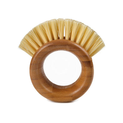 Full Circle 20FC09106 Full Circle The Ring Veggie Brush  Bamboo