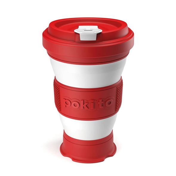 Pokito 52CR88332 Pokito Pop Up Cup  Cherry Red