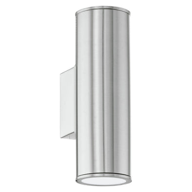 Eglo 94107 Eglo Riga  LED Outdoor Wall Light  UpDown  Stainless Steel