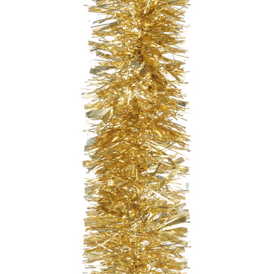 Festive Productions 160938 Tinsel Garland  Luxury Chunky Gold  2m