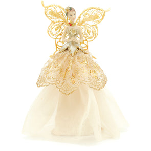 Festive Productions 266081 Angel Tree Topper  Gold  23cm