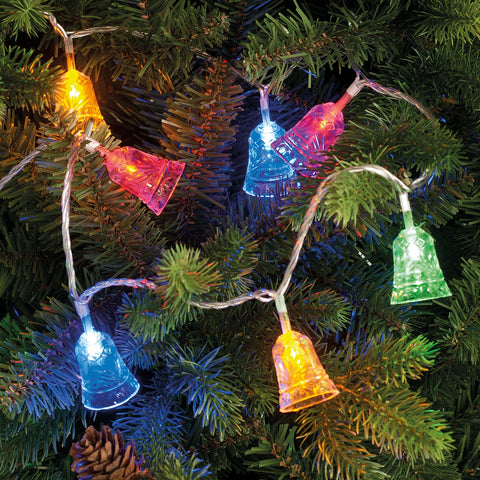 Festive Productions P014591 100 LED Acrylic Bell Light String