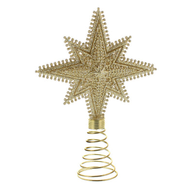 Festive Productions P020928 Nativity Star Tree Topper  Gold  18cm