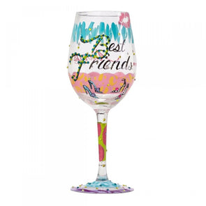 Lolita 4053096 Best Friends Always Wine Glass